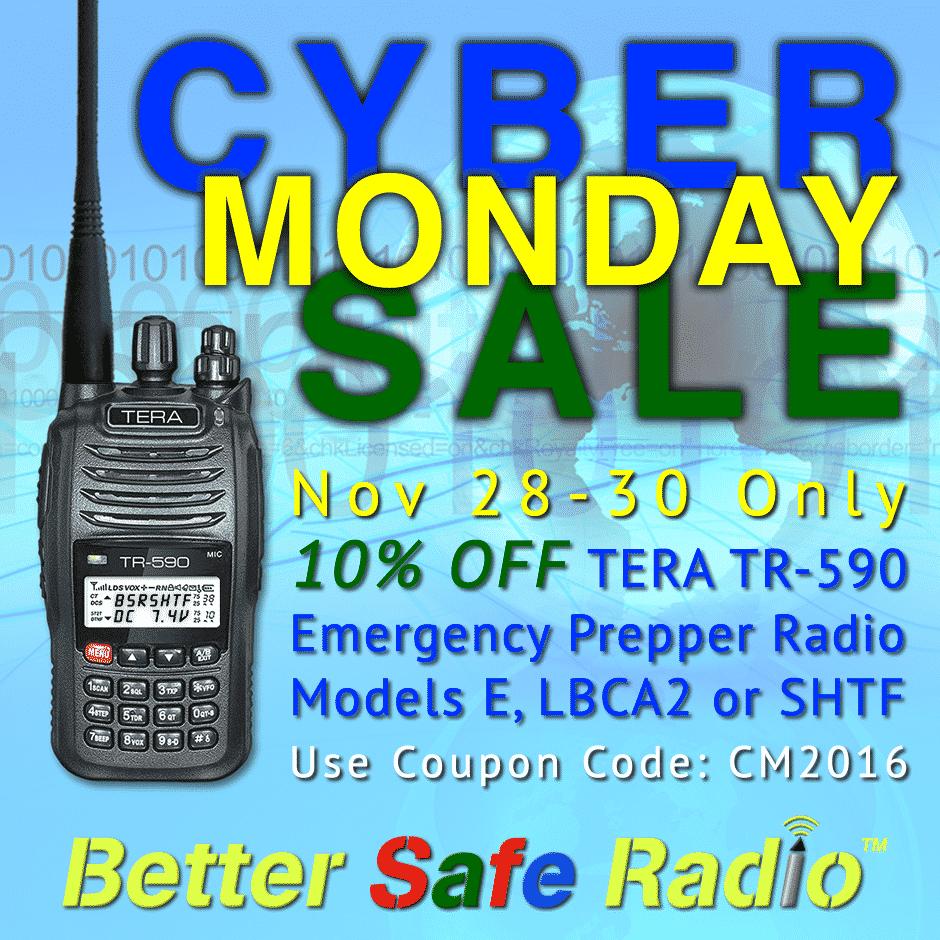 BetterSafeRadio Cyber Monday Sale 2016 Promo