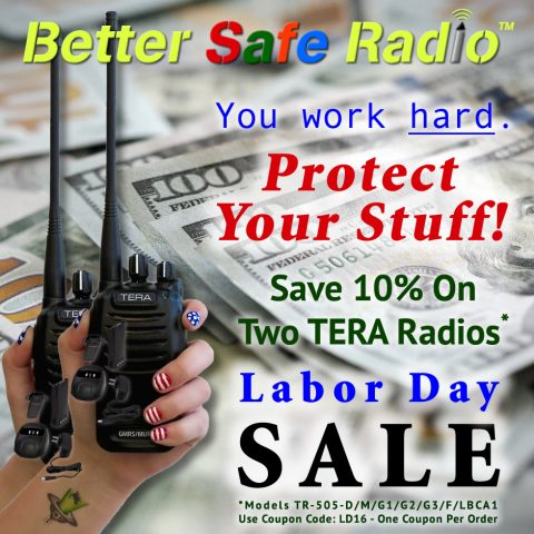 BetterSafeRadio Protect Your Stuff Labor Day 2016 Promo