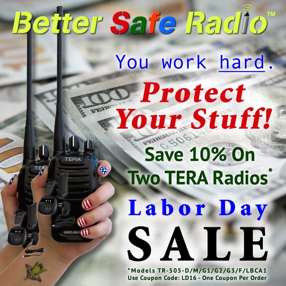 BetterSafeRadio Protect Your Stuff Labor Day 2016 Promo