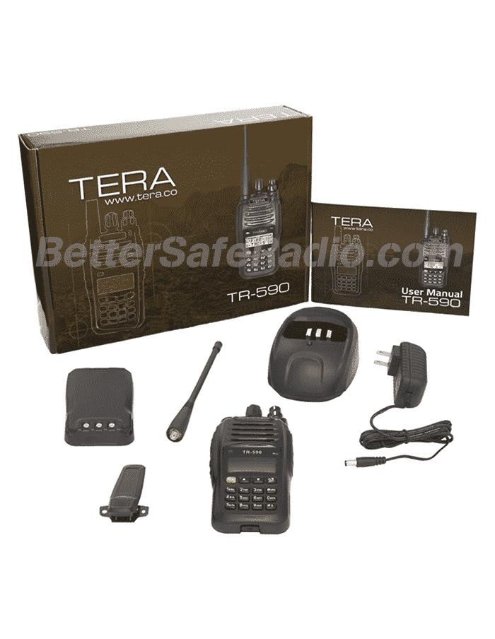 TERA TR-590 Commercial Ham Two-Way Radio - Contents