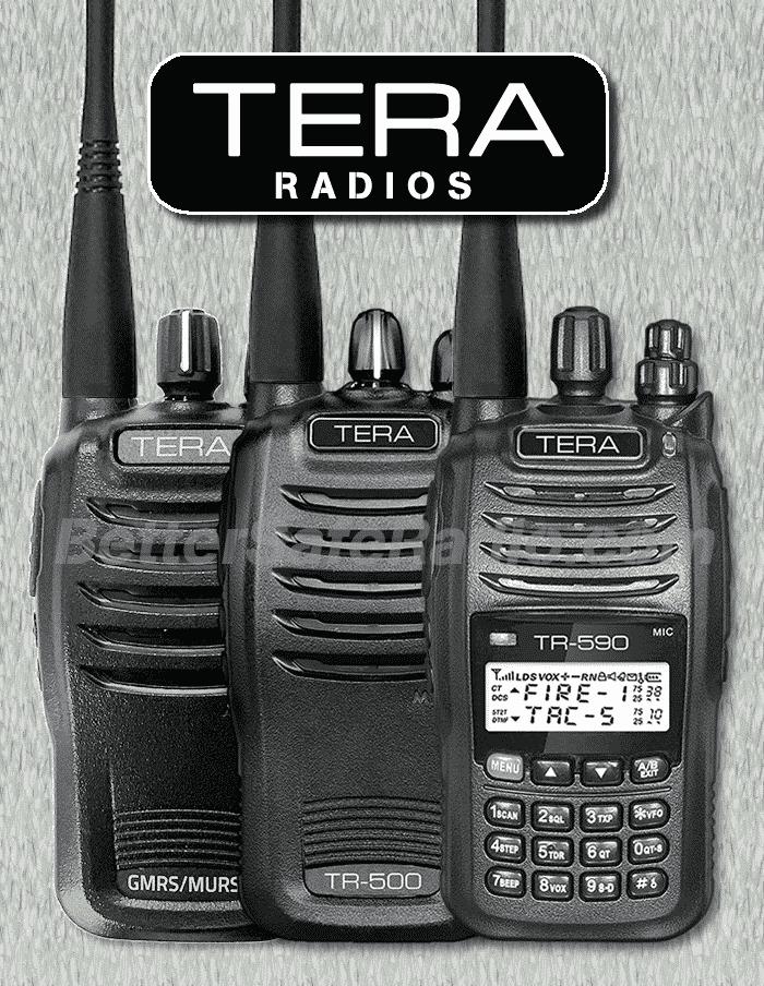 TERA Handheld Radios