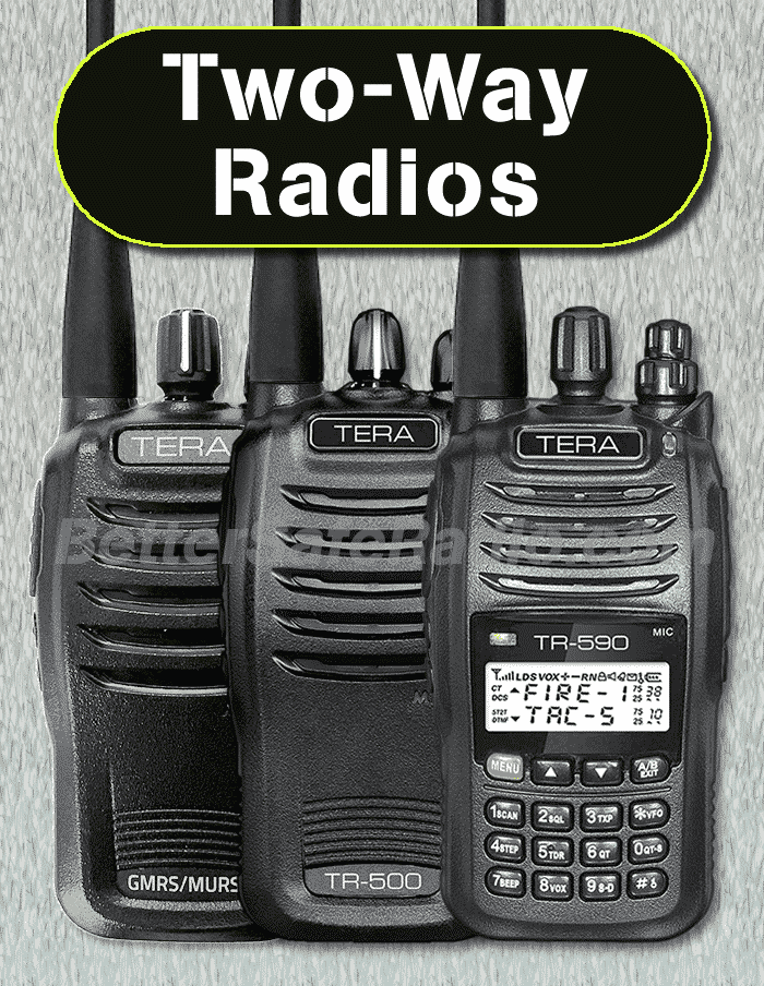 Emergency Two-Way Radios & Accessories