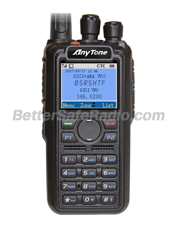 AnyTone AT-D868UV Commercial Ham Two-Way Radio - Assembled Stock