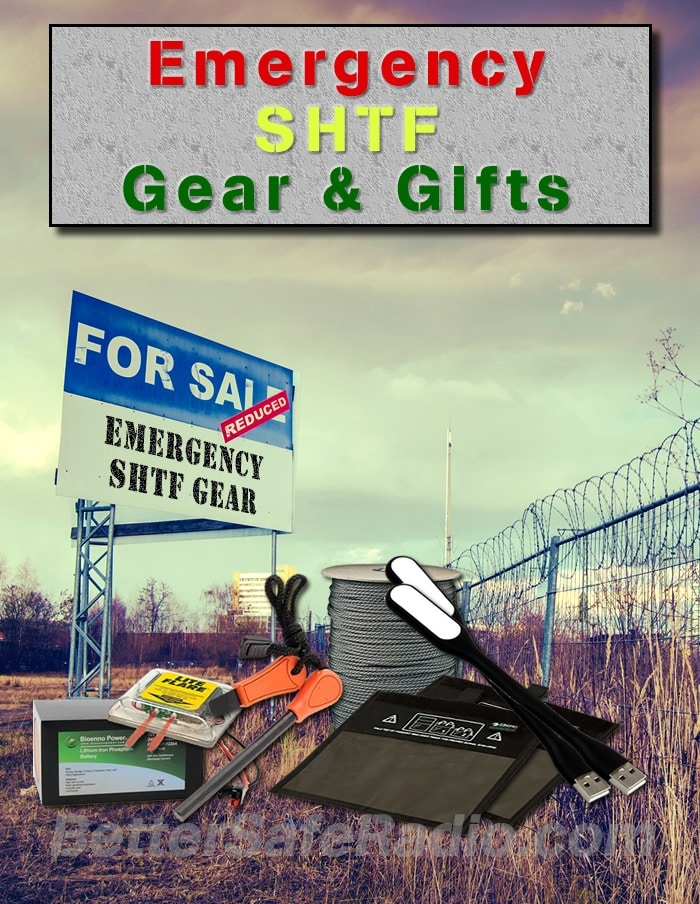 Emergency SHTF Gear & Gifts