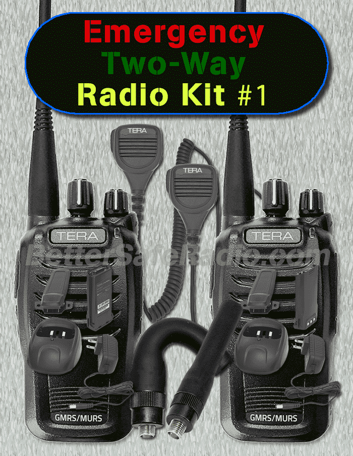 BSR Emergency Two-Way Radio Kit #1