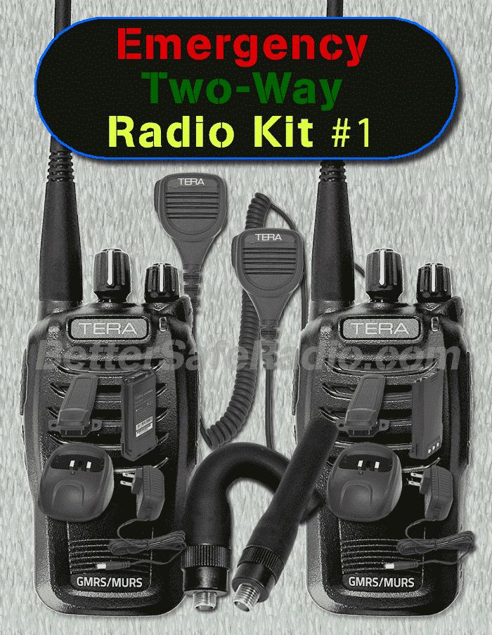 BSR Emergency Two-Way Radio Kit #1