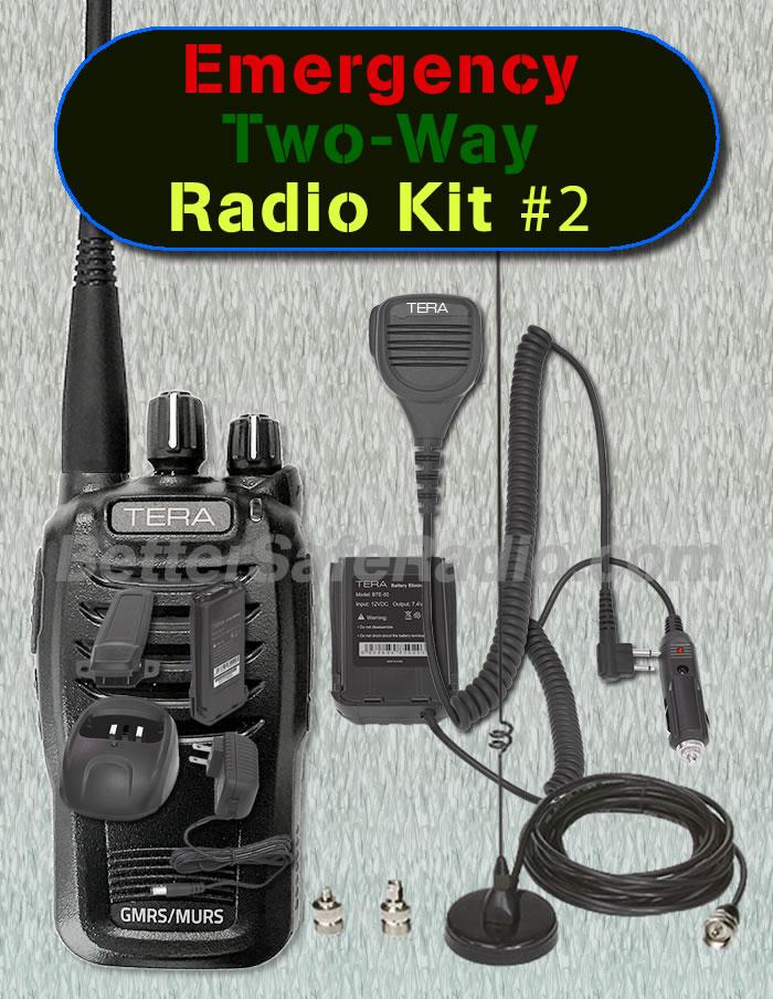 BSR Emergency Two-Way Radio Kit #2