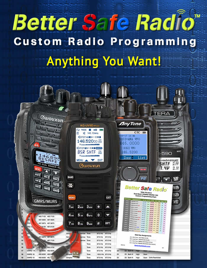 BSR-PROG Custom Radio Programming