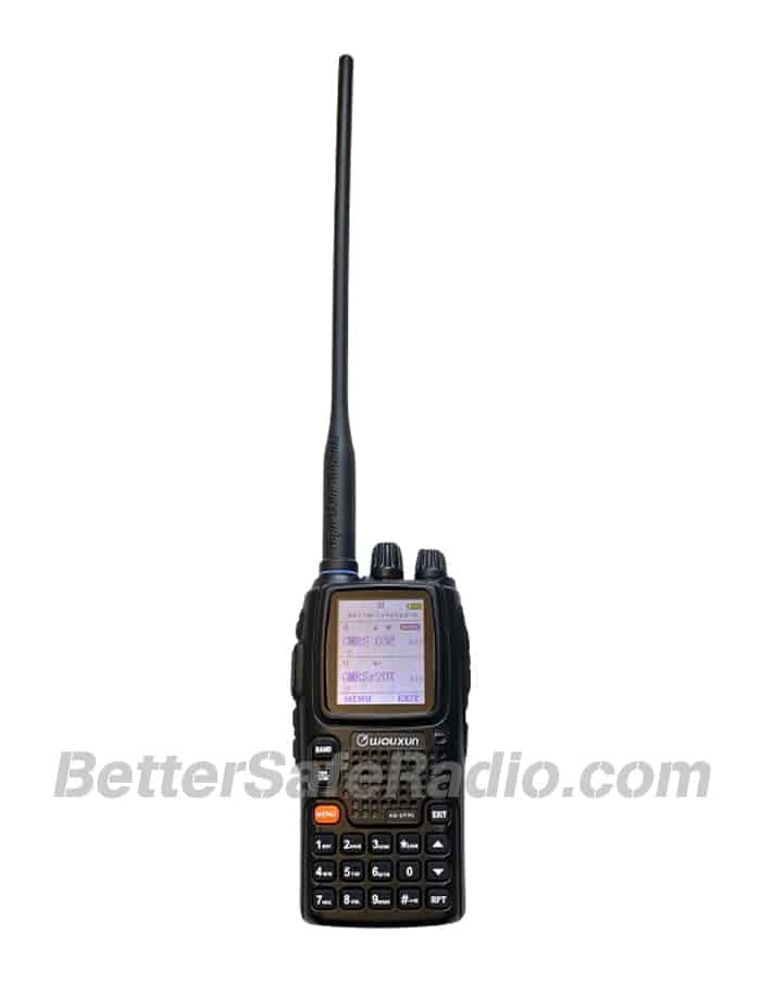 BSR Wouxun KG-UV9G PRO GMRS Two-Way Radio - Assembled