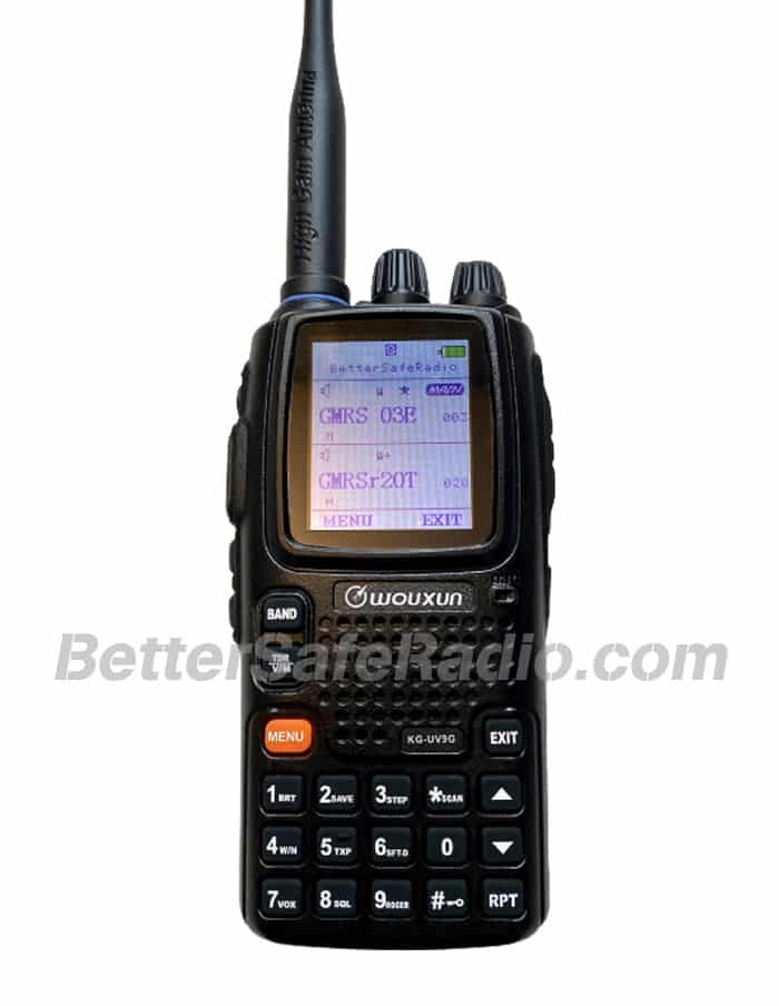 BSR Wouxun KG-UV9G PRO GMRS Two-Way Radio - Close