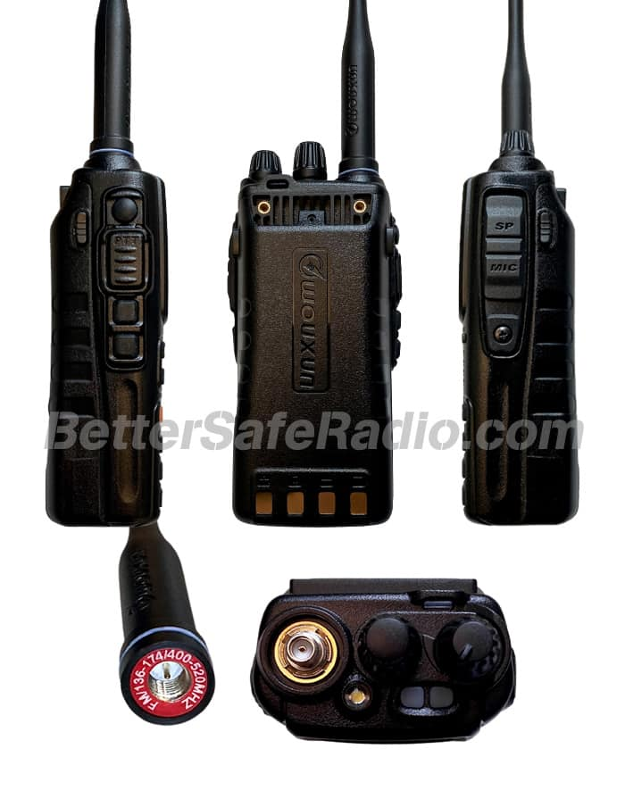 BSR Wouxun KG-UV9G PRO GMRS Two-Way Radio - Views