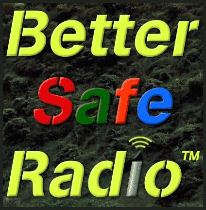 BetterSafeRadio Logo Badge