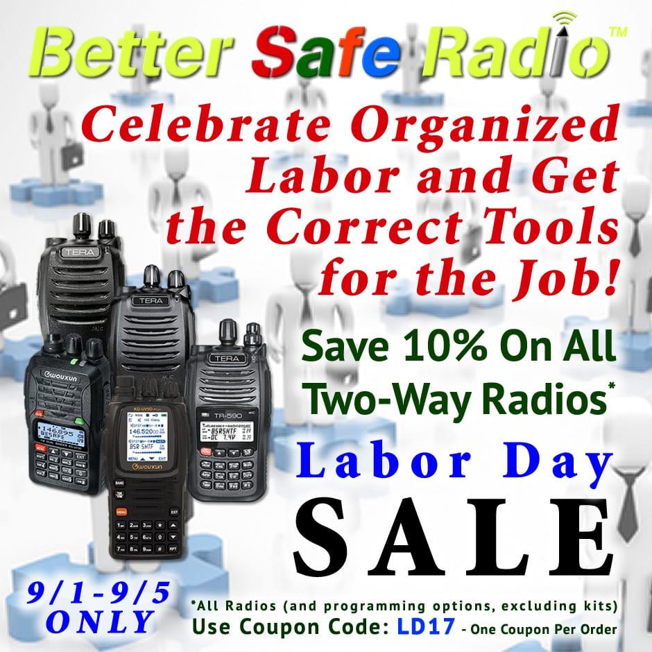 BetterSafeRadio- Celebrate Labor 2017 Promo