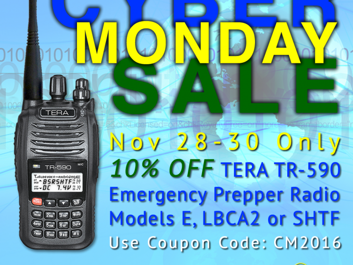 Cyber Monday Sale – Save 10% on TERA TR-590