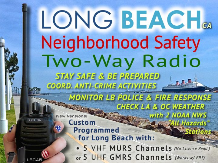 Making Long Beach, California Neighborhoods Safer with the LBCA5 Safety Radio