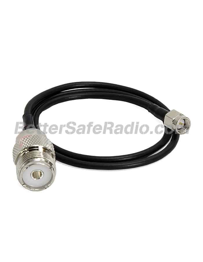 Comet Standard SMA Male to SO-239 18 Coax Adapter Jumper
