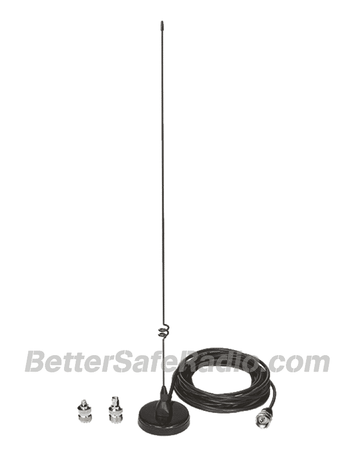 Powerwerx ANTMAG 18%22 Magnetic Mount Dual-Band Mobile Antenna