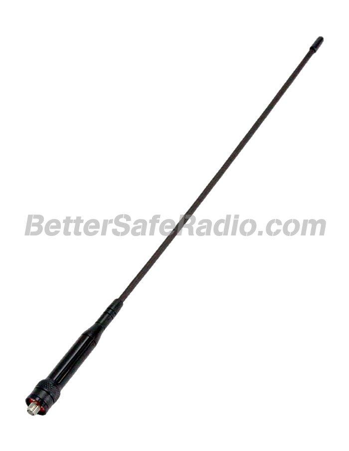 """Powerwerx WXGAT-RV 15"""" High Gain Dual-Band Handheld Reverse SMA Antenna"""