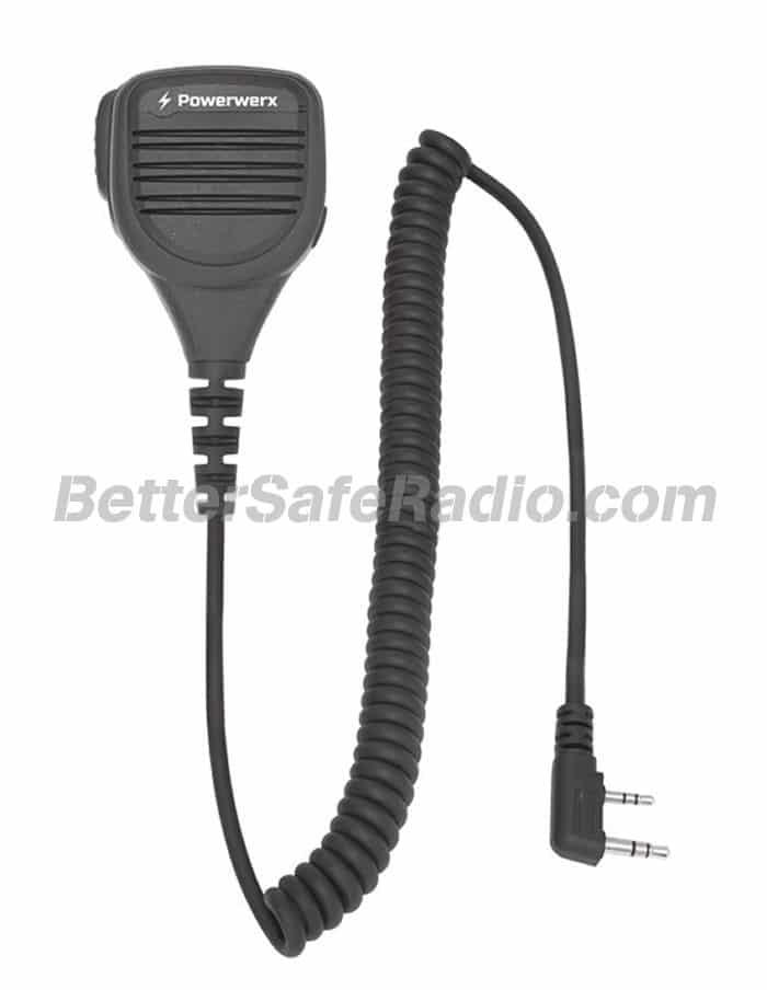 Powerwerx WXRSM Heavy Duty Speaker Microphone