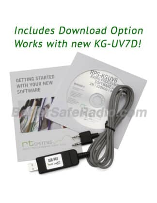 RT Systems Wouxun KG-UV6D KG-UV7D Advanced Programming Software Cable Kit