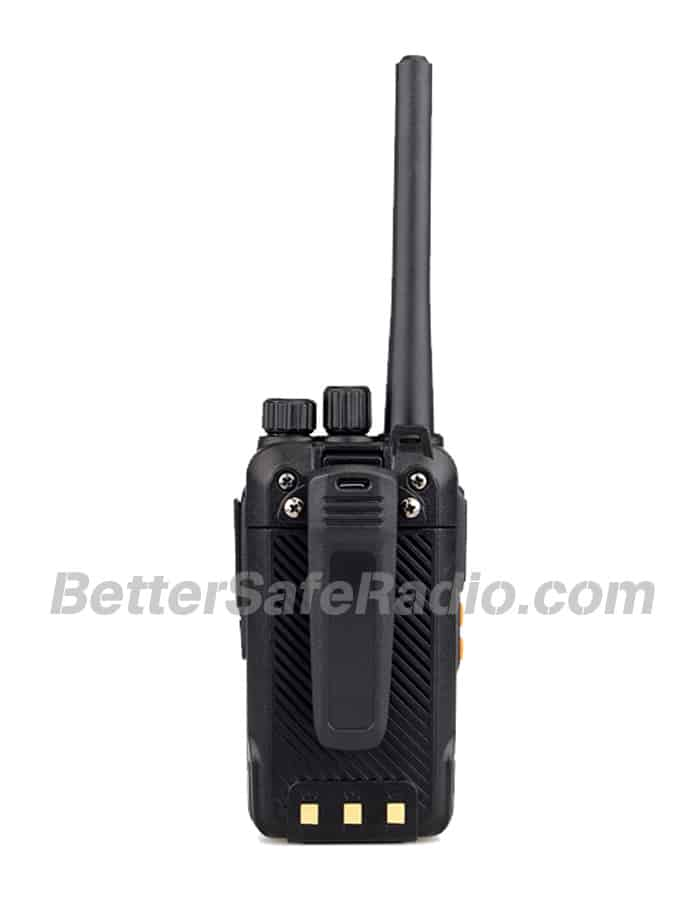 Retevis RT27 FRS Personal Business License-Free Two-Way Radio - Back View