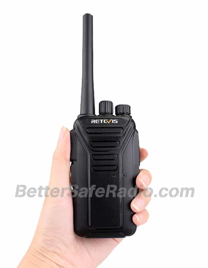 Retevis RT27 FRS Personal Business License-Free Two-Way Radio - Hand