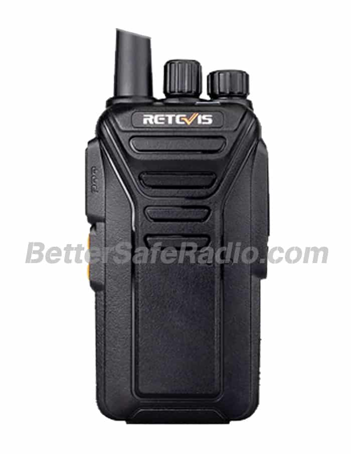 Retevis RT27V MURS Personal Business License-Free Two-Way Radio - Front