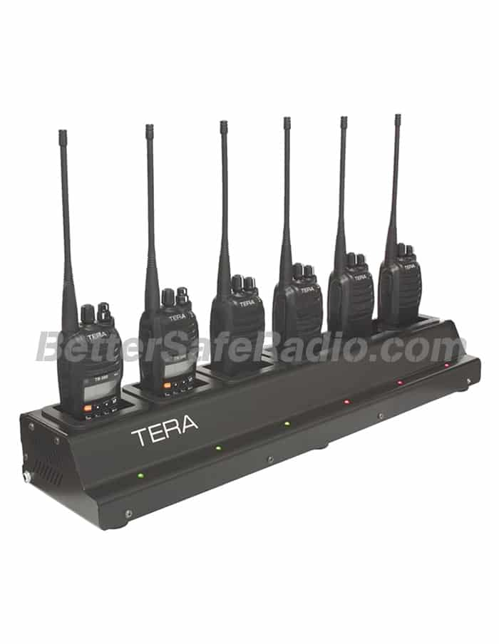 TERA CRG-56 Rapid Rate Multi-Unit 6 Bay Gang Battery Charger