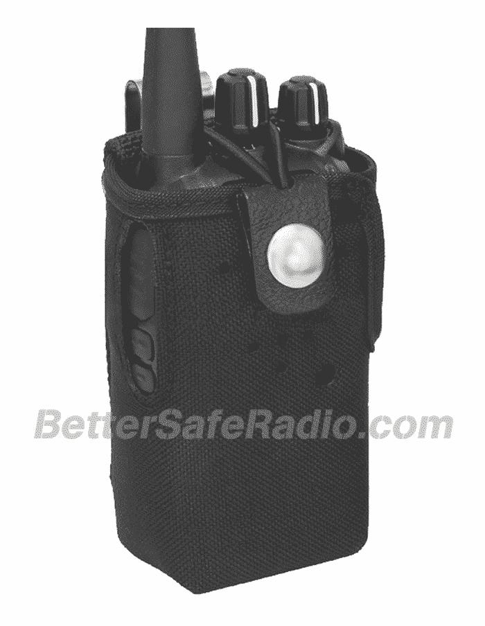 TERA CSC-500 Heavy Duty Nylon Radio Case with Stainless Belt Clip