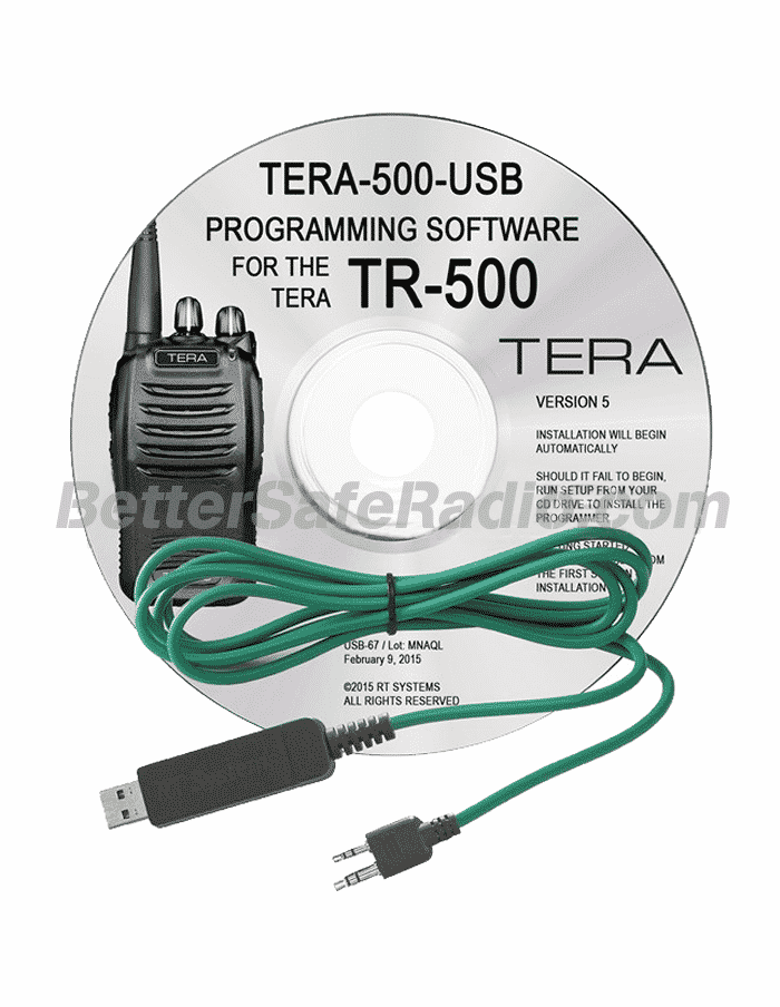 TERA TR-500 Advanced Programming Software Cable Kit