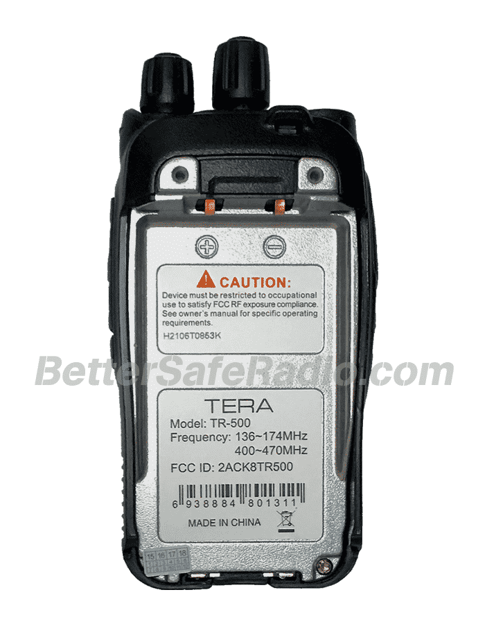 Tera Tr 500 Dual Band Commercial Amp Ham Radio Bettersaferadio