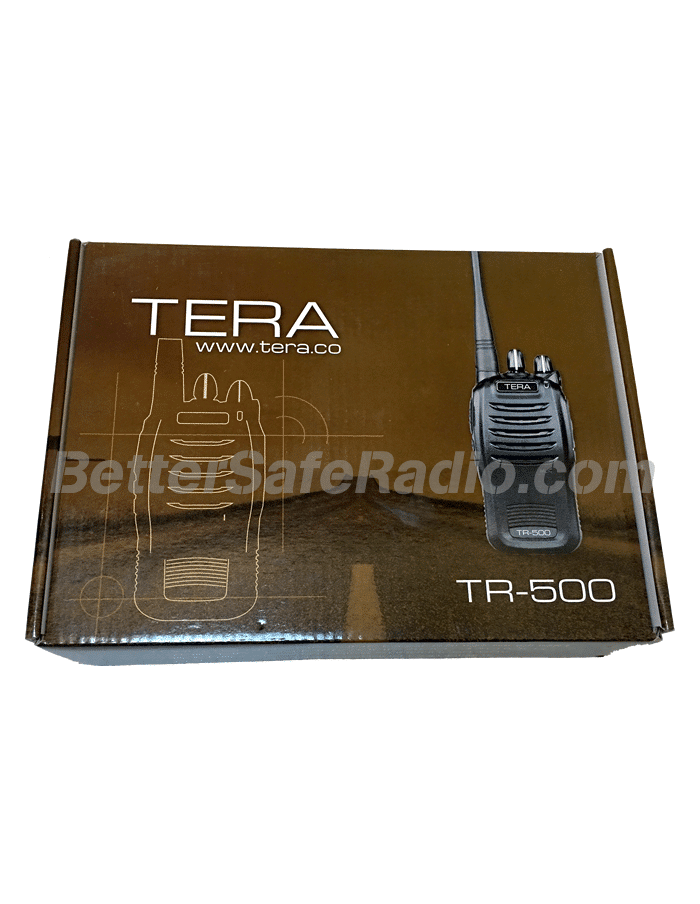 TERA TR-500 Commercial Ham Two-Way Radio - Box Front