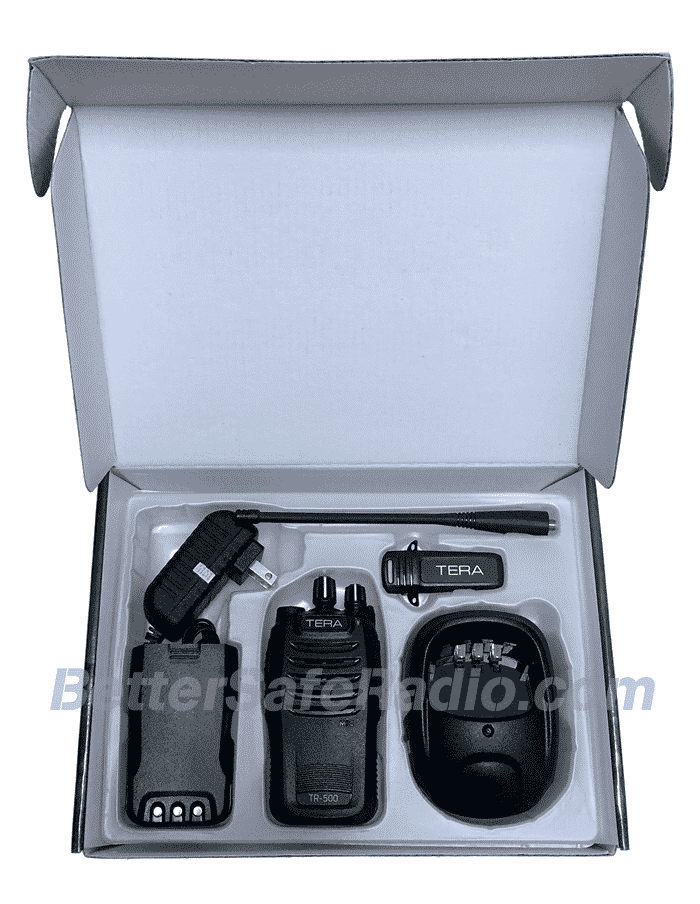 TERA TR-500 Commercial Ham Two-Way Radio - Box Inside
