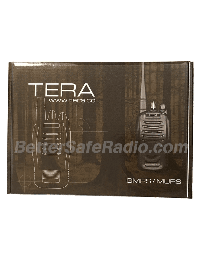 TERA TR-505 GMRS-MURS Two-Way Radio - Box Front