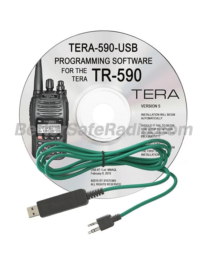 TERA TR-590 Advanced Programming Software Cable Kit