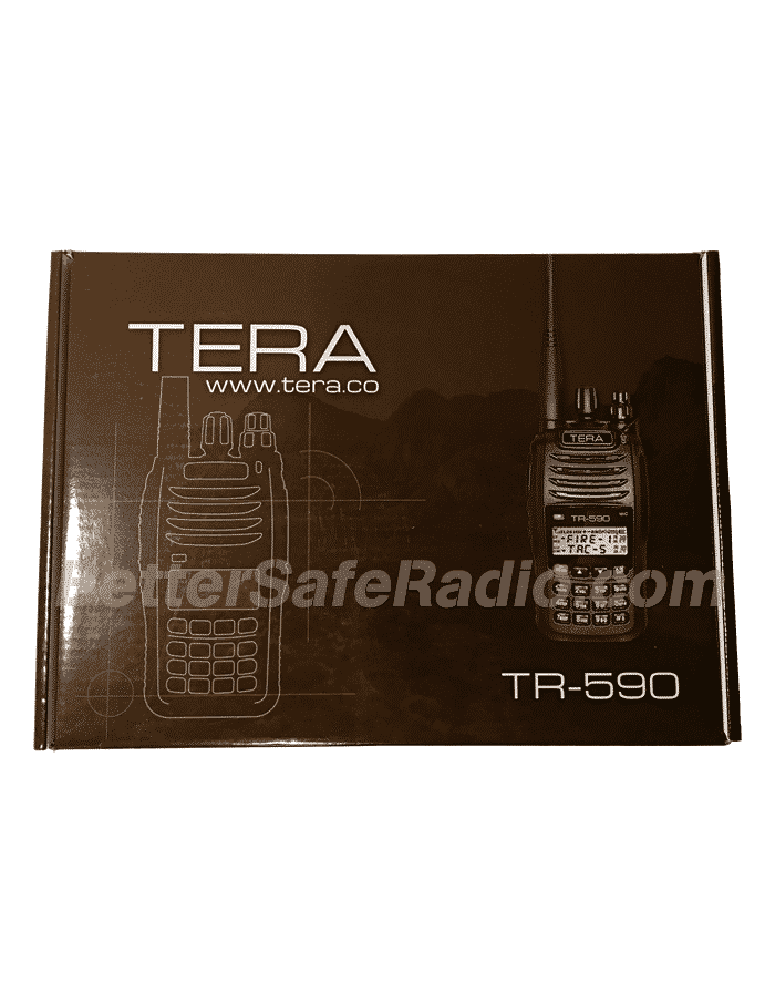 TERA TR-590 Commercial Ham Two-Way Radio - Box Front