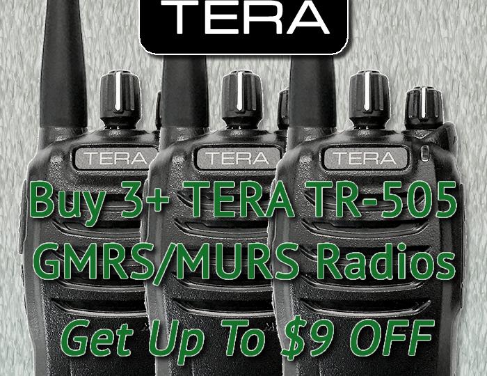 TERA TR-505 GMRS/MURS Bulk Radio Discounts!