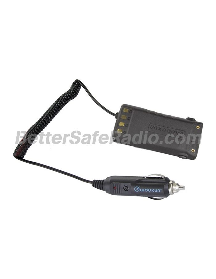 Wouxun BTE-9 12V Battery Eliminator Cigarette Lighter Plug