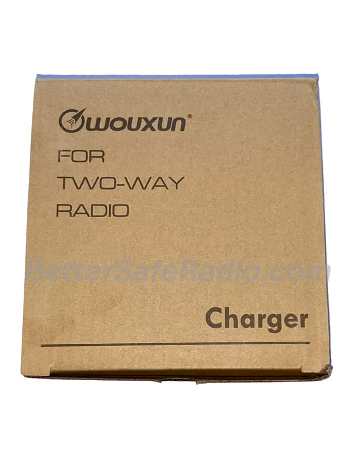 Wouxun CHA-011 CRG-9 Desktop Charger & AC Adapter for 9-Series - Box