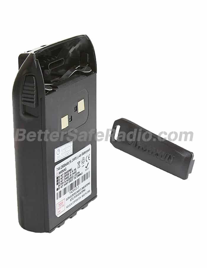 Wouxun High-Capacity 2600 mAh Li-ion Battery Pack