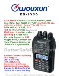 Wouxun KG-UV3D Commercial Ham Two-Way Radio - Assembled Specs