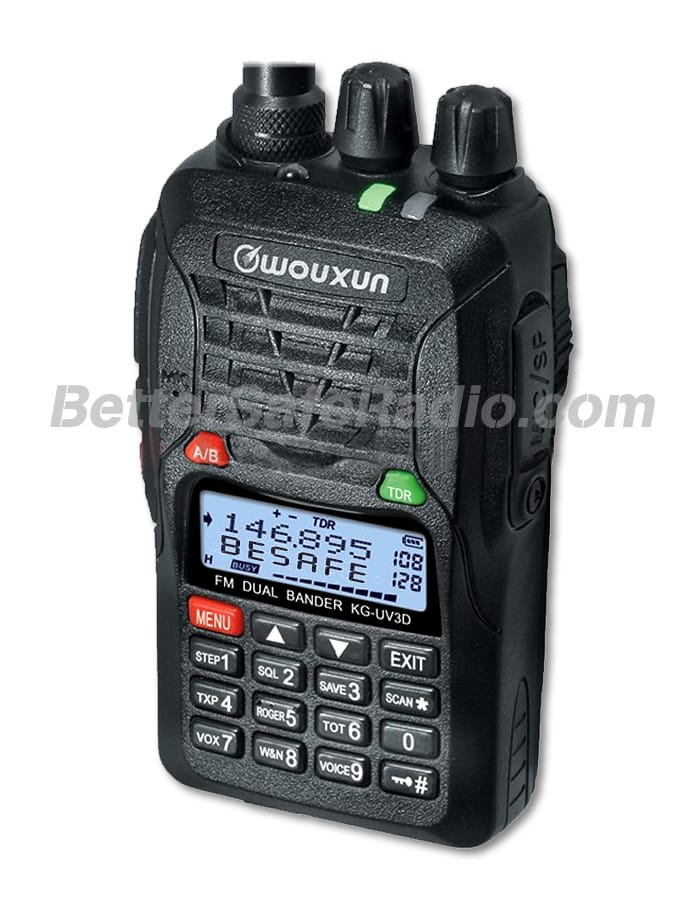 Wouxun KG-UV3D Commercial Ham Two-Way Radio - Assembled Stock