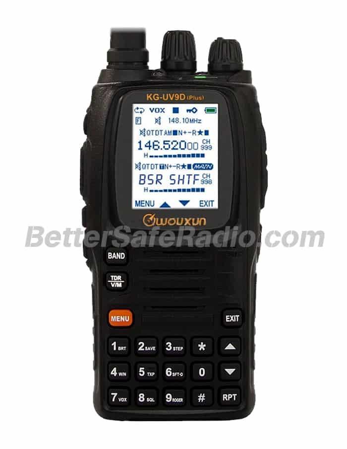 Wouxun KG-UV9D (Plus) Emergency Ham Two-Way Radio - Assembled Stock