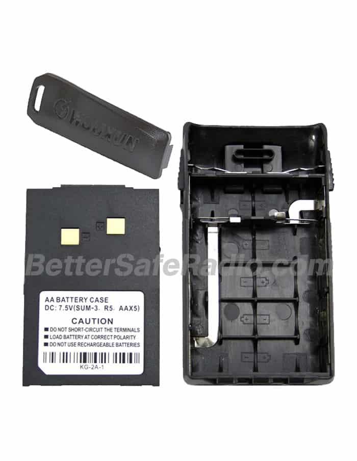 Wouxun WXAAB Standard AA Battery Case